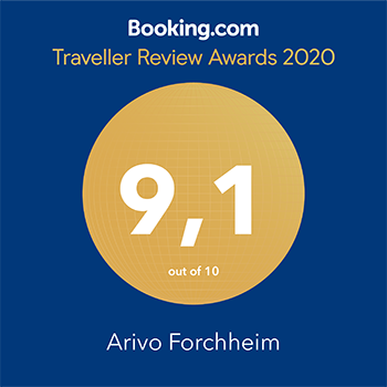 Arivo – Booking.com Traveller Review Award 2020